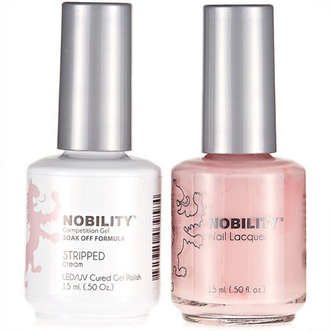 Nobility Gel Polish & Nail Lacquer, Stripped - NBCS140