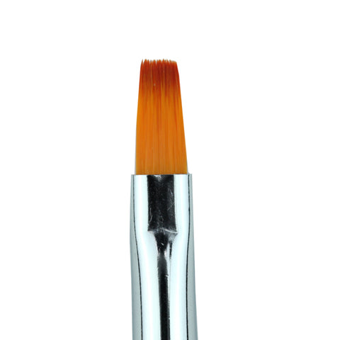 Cre8tion - Gel Brush Square Tip Wood Handle 04