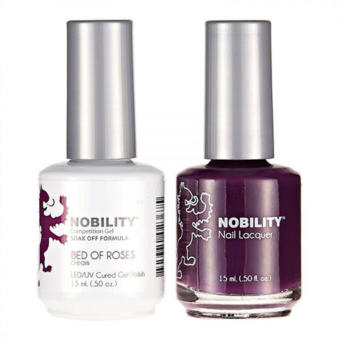 Nobility Gel Polish & Nail Lacquer, Bed Of Roses - NBCS049