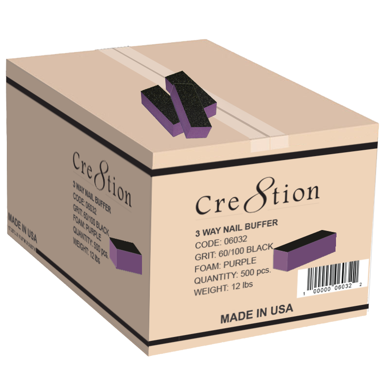 Cre8tion Buffer - 3 Way - 60/100 Purple/Black