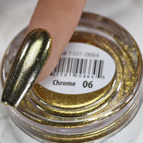 Cre8tion - Chrome Nail Art Effect 06 Gold - 1g