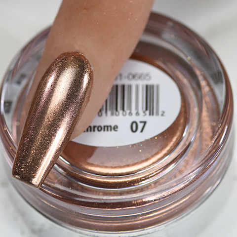Cre8tion -  Chrome Nail Art Effect 07 Rose Gold - 1g