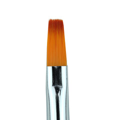 Cre8tion - Gel Brush Square Tip Wood Handle 08