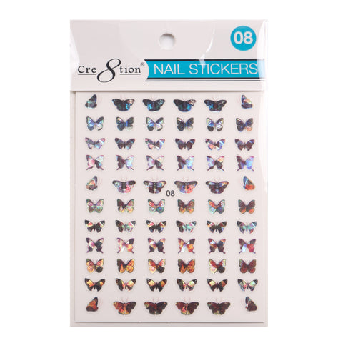 Coming Soon - Cre8tion 3D Nail Art Sticker Butterfly 08