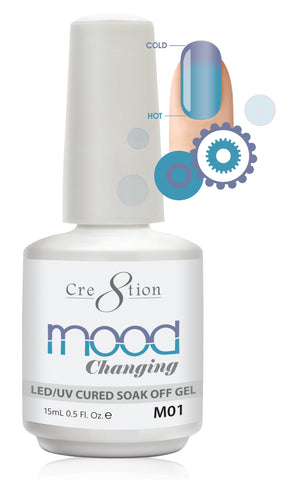 Cre8tion Mood Changing Soak Off Gel M01-Creamy