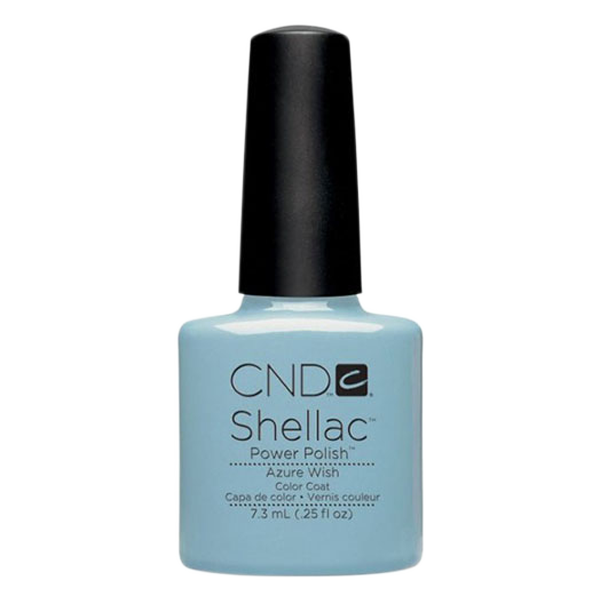 CND Shellac - Soak Off Gel .25 oz - Azure Wish