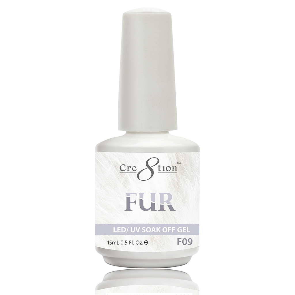 Cre8tion Fur Soak Off Gel - F09