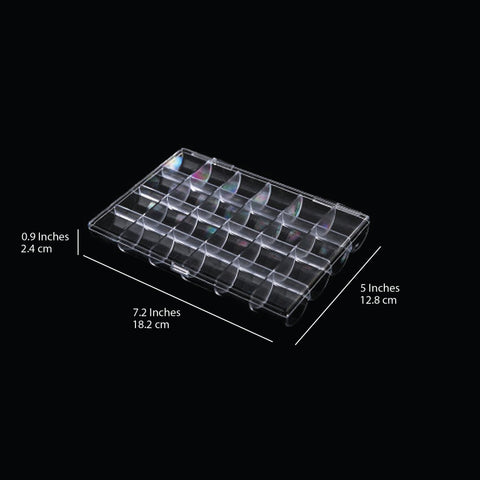 Cre8tion Transparent Nail Accessory Box