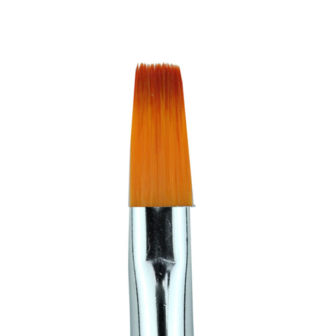 Cre8tion - Gel Brush Square Tip Wood Handle 10