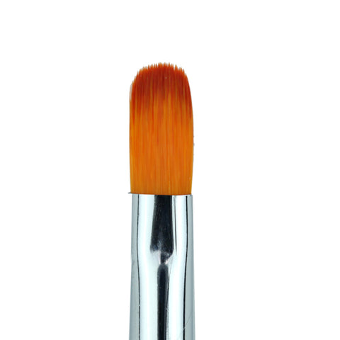 Cre8tion - Gel Brush Oval  Tip Wood Handle 10