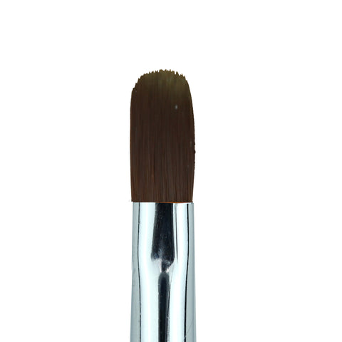 Cre8tion - Gel Brush Oval Tip Rhinestone Handle 10