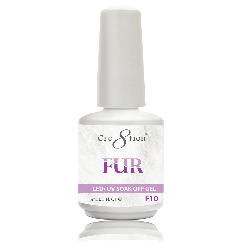 Cre8tion Fur Soak Off Gel - F10