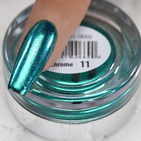 Cre8tion - Chrome Nail Art Effect 11 Turquoise - 1g