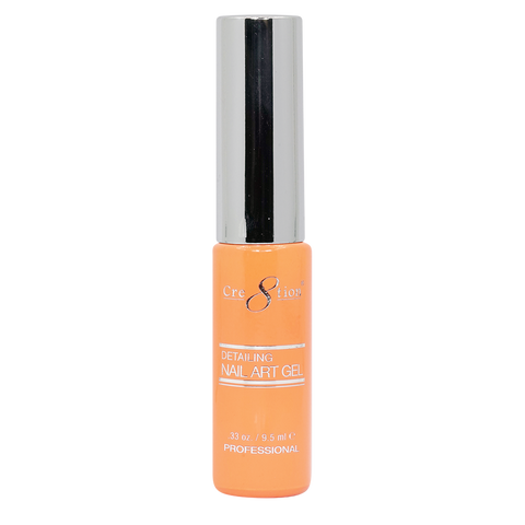 Cre8tion Detailing Nail Art Gel 12 Hot Orange