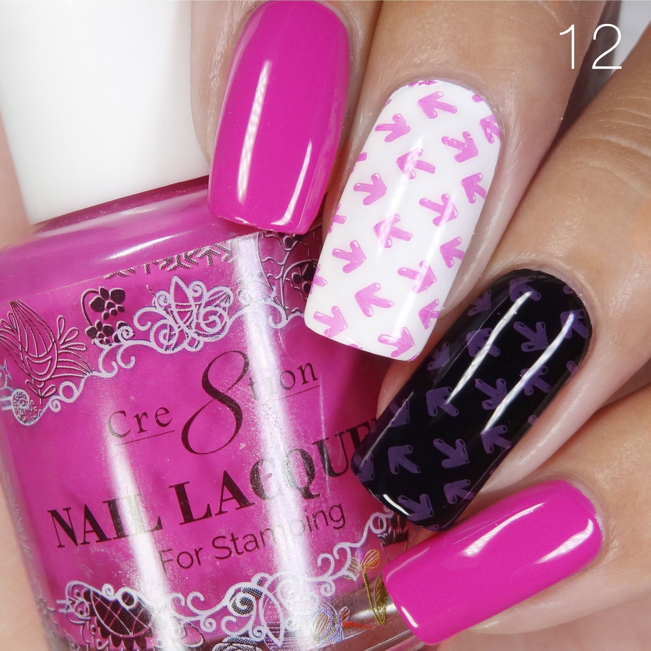 Cre8tion - Stamping Nail Art Lacquer 12