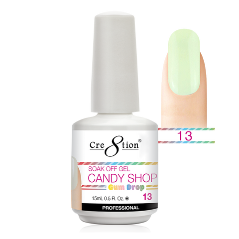 Cre8tion - Candy Shop Gum Drop Soak Off Gel .5oz 13