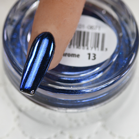 Cre8tion - Chrome Nail Art Effect 13 Deep Blue - 1g