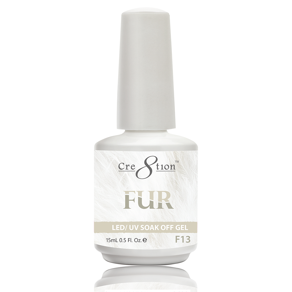 Cre8tion Fur Soak Off Gel - F13