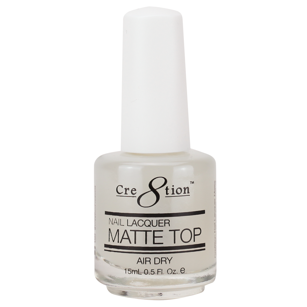 Cre8tion's newest Nail Lacquer Shiny Top!