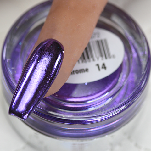 Cre8tion - Chrome Nail Art Effect 14 Purple - 1g