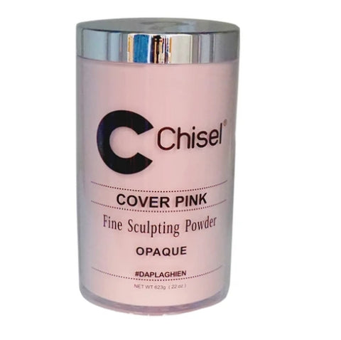 Chisel Acrylic Powder Pink & White Cover Pink - 22oz