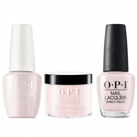 OPI COMBO 3 in 1 Matching - GCL16-NLL16-DPL16 Lisbon Wants Moor OPI