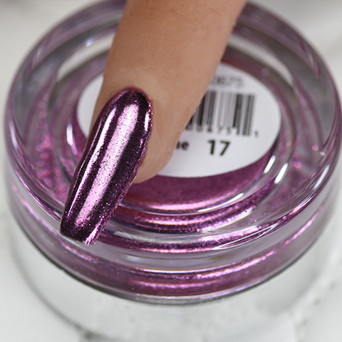 Cre8tion - Chrome Nail Art Effect 17 Hot Pink - 1g