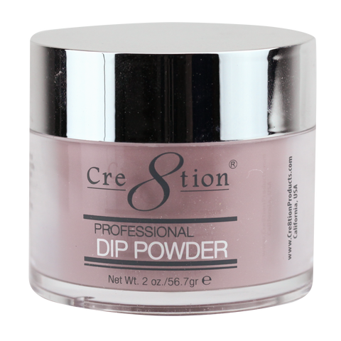 Cre8tion  Dipping Powder  Rustic Collection RC17 Dusty Rose 2 oz