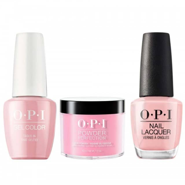 OPI COMBO 3 in 1 Matching - GCL18-NLL18-DPL18 Tagus in That Selfie!