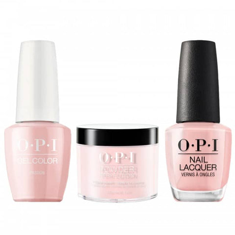 OPI COMBO 3 in 1 Matching - GCH19A-NLH19-DPH19 Passion