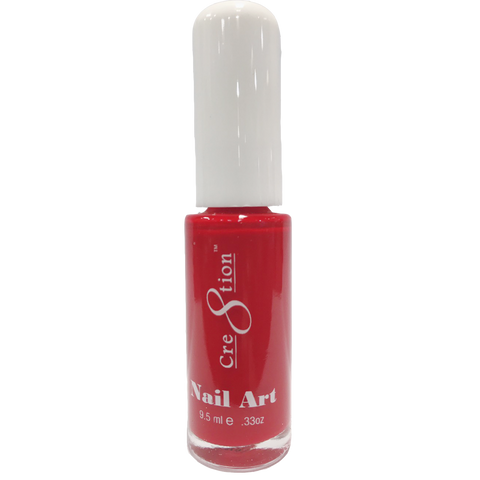 Cre8tion -  Nail Art Design Thin Detailer 06 - Christmas Red