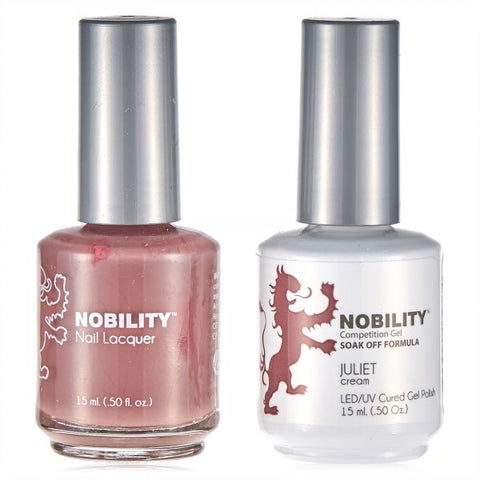 Nobility Gel Polish & Nail Lacquer, Juliet
