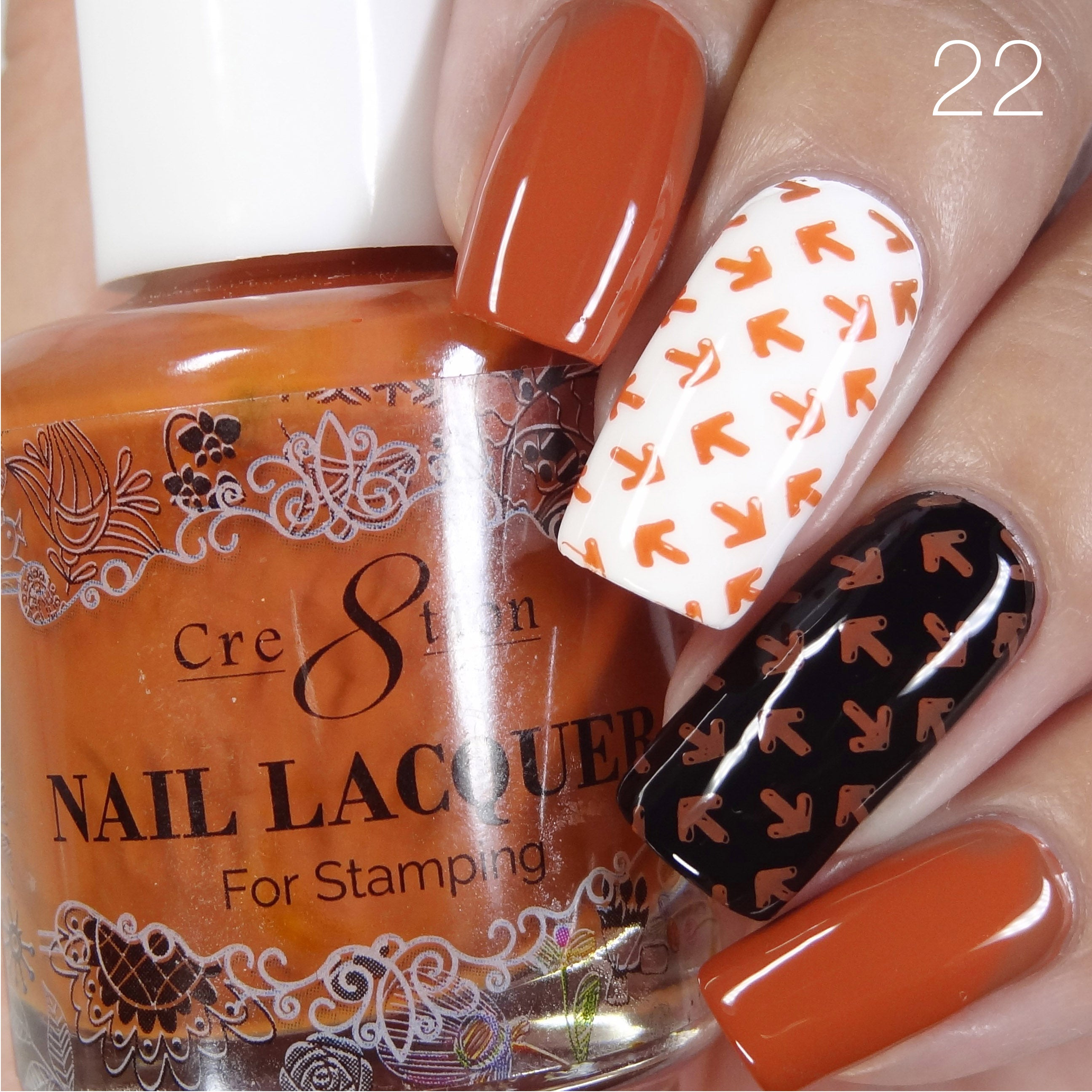 Cre8tion - Stamping Nail Art Lacquer 22
