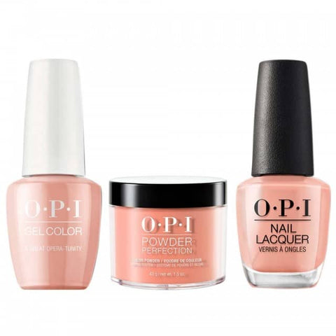 OPI COMBO 3 in 1 Matching - GCV25A-NLV25-DPV25 A Great Opera-tunity