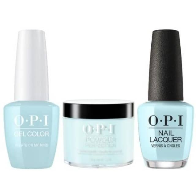 OPI COMBO 3 in 1 Matching - GCV33A-NLV33-DPV33 Gelato On My Mind