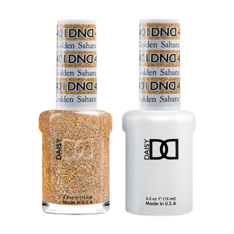 Daisy DND - Gel & Lacquer Duo - 401 Golden Sahara Star