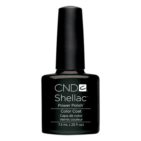 CND Shellac - Soak Off Gel .25 oz - Black Pool