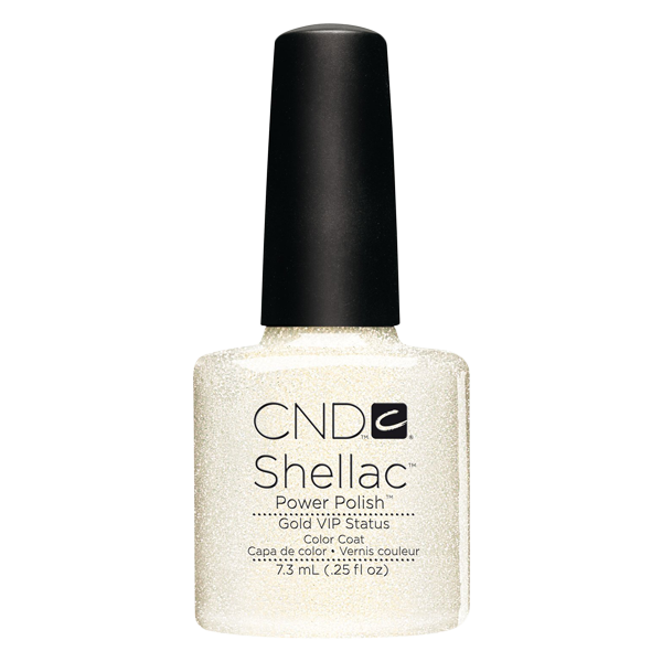 CND Shellac - Soak Off Gel .25 oz - Gold VIP Status