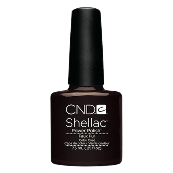 CND Shellac - Soak Off Gel .25 oz - Faux Fur