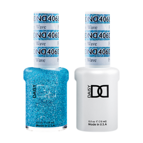 Daisy DND - Gel & Lacquer Duo - 406 Frozen Wave