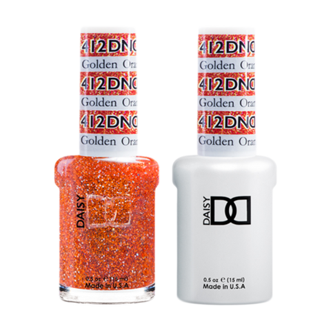 Daisy DND - Gel & Lacquer Duo - 412 Golden Orange Star