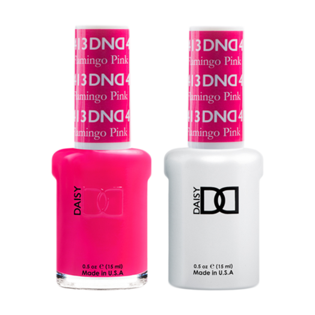 Daisy DND - Gel & Lacquer Duo - 413 Flamingo Pink