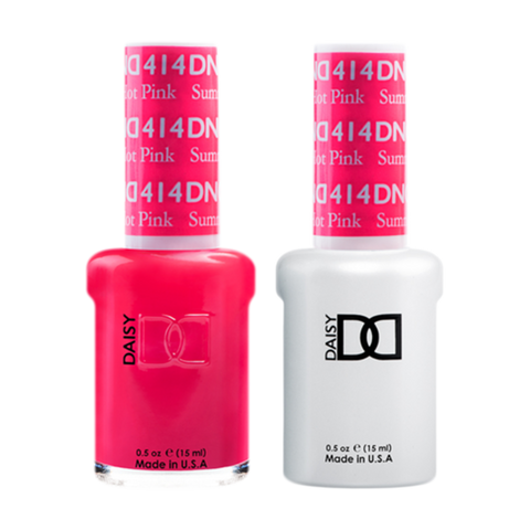 Daisy DND - Gel & Lacquer Duo - 414 Summer Hot Pink
