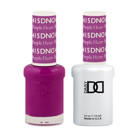 Daisy DND - Gel & Lacquer Duo - 415 Purple Heart