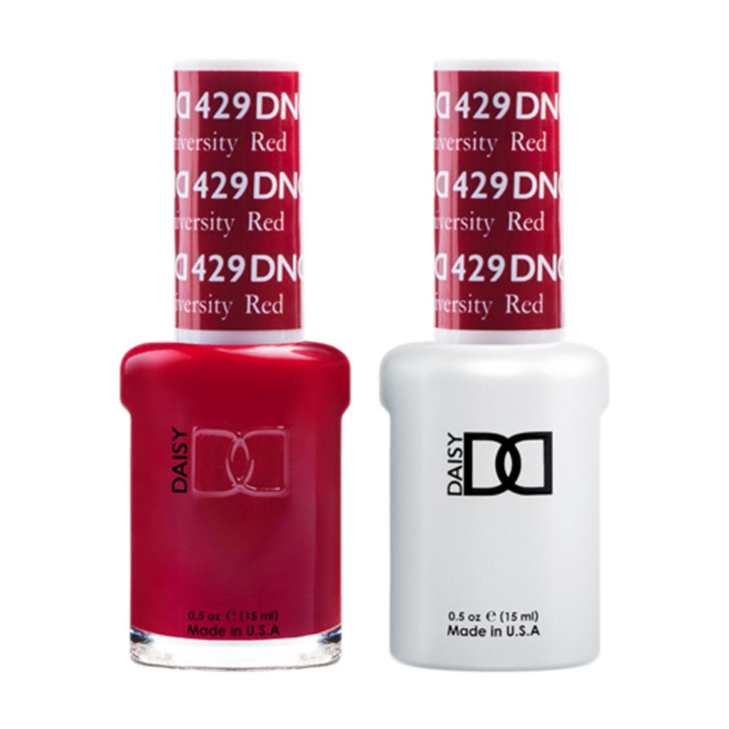 Daisy DND - Gel & Lacquer Duo - 429 Boston University Red
