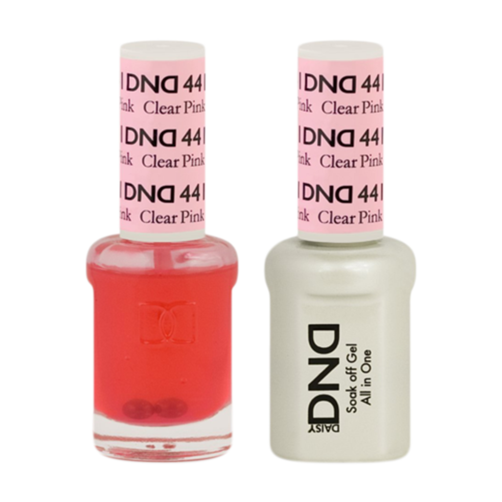 Daisy DND - Gel & Lacquer Duo - 441 Clear Pink