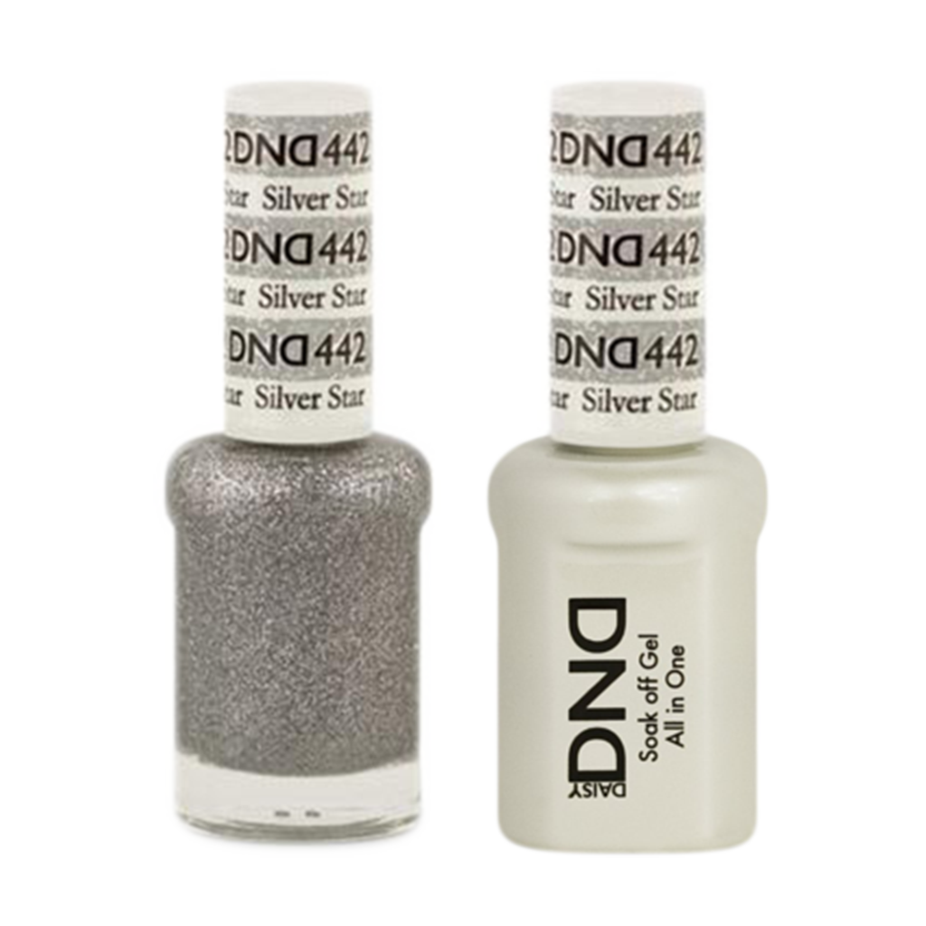 Daisy DND - Gel & Lacquer Duo - 442 Silver Star