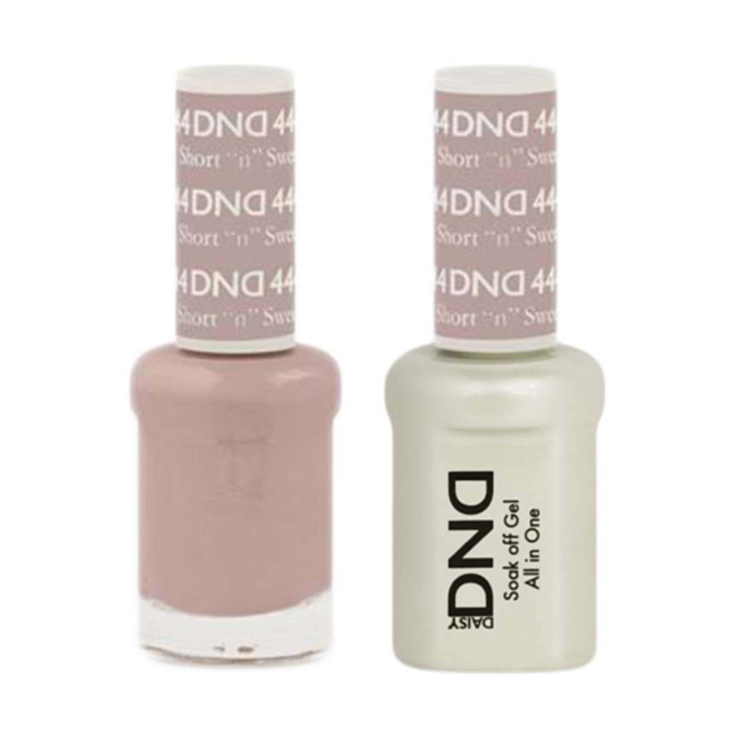 "Daisy DND - Gel & Lacquer Duo - 444 Short ""N"" Sweet"