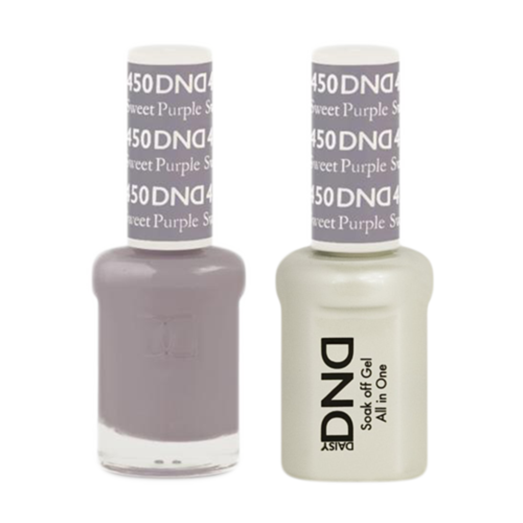 Daisy DND - Gel & Lacquer Duo - 450 Sweet Purple