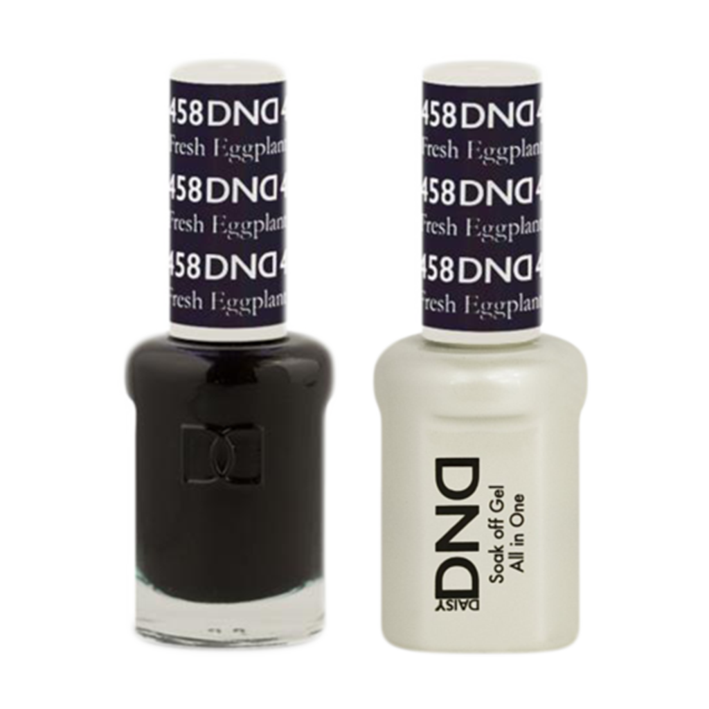 Daisy DND - Gel & Lacquer Duo - 458 Fresh Eggplant